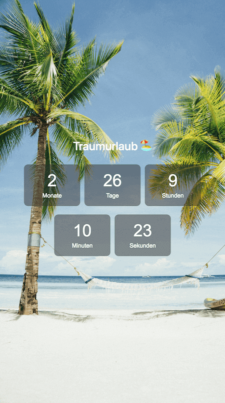 Holidaycountdown Beach