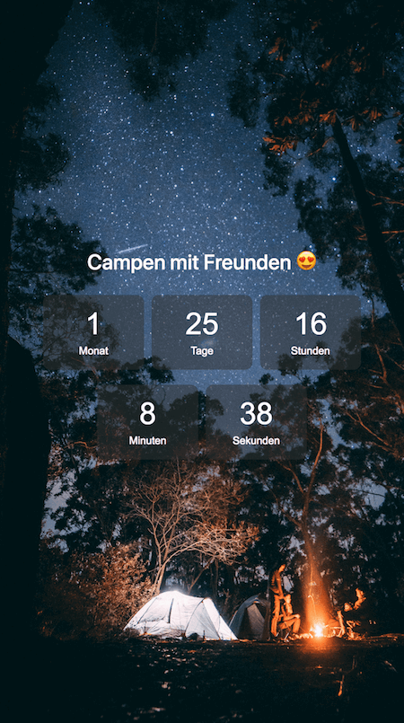 Holidaycountdown campen