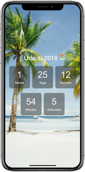 Screenshot 1 Holidaycountdown